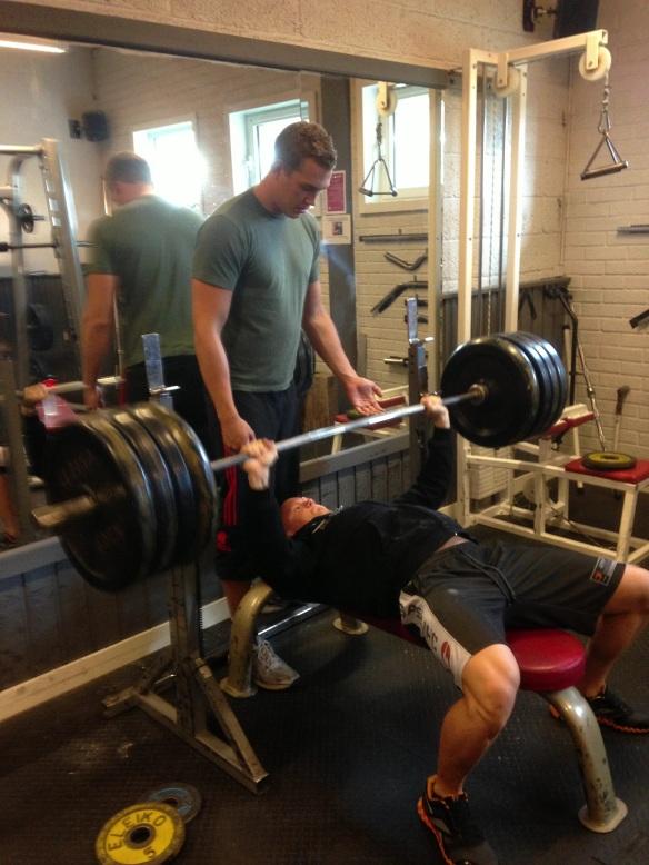 130kg bänkpress